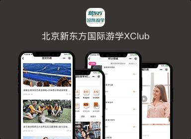 北京新东方国际游学XClub